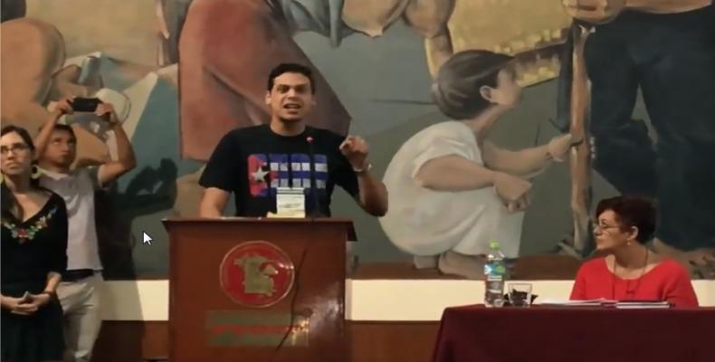 Los cubanos denunciaron la acreditación de tres individuos que no representan los legítimos intereses de nuestra sociedad. Foto del Facebok de Heidy Villuendas