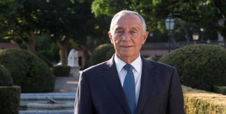 President of the Republic of Portugal  Marcelo Rebelo