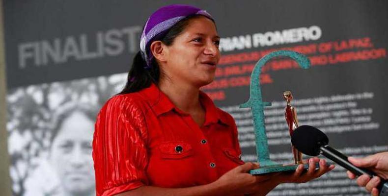Ana Mirian Romero, Honduran Indigenous rights activist