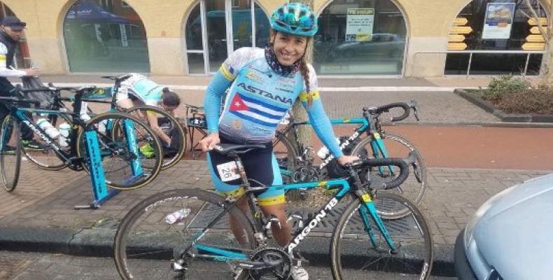 Arlenis Sierra, campeona del Giro a Toscana. Foto: JIT