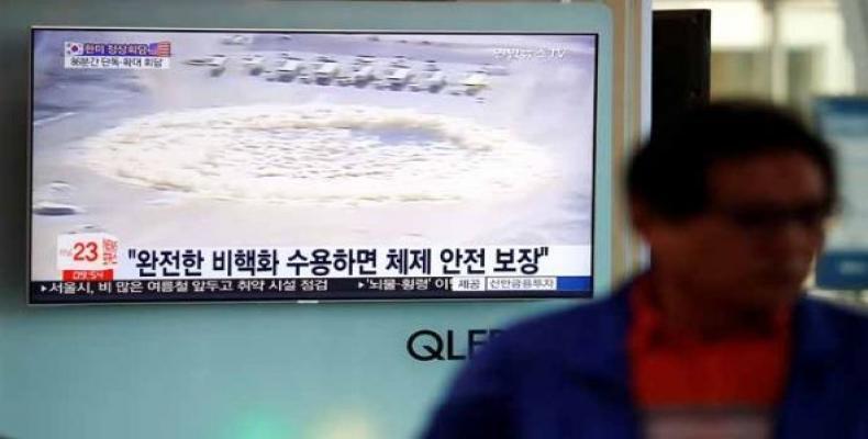 Base nuclear norcoreana Punggye-ri