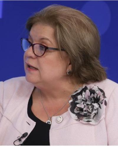 El trabajo de Gloria María Borrero fue agradecido por el presidente Iván Duque. Fotos: eltiempo.com