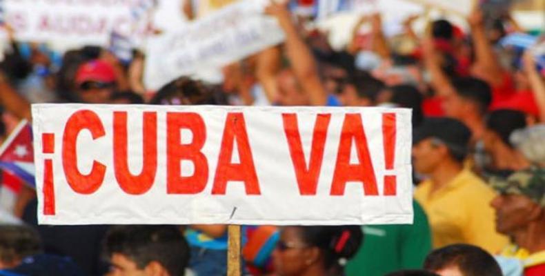 Brigada Internacional de Solidaridad Primero de Mayo comienza este lunes en Cuba un programa de actividades.Foto:PL.