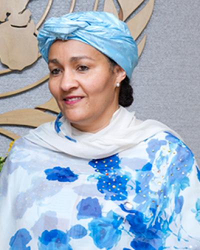 Amina Mohammed alabó el papel solidario de Cuba, en el área y a nivel mundial. Foto: Archivo