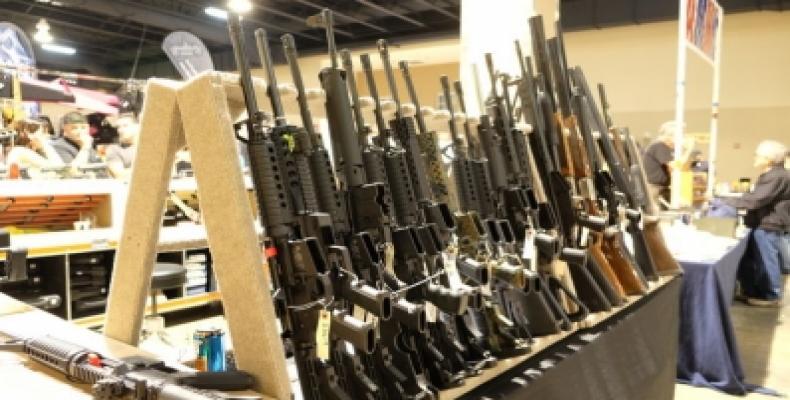 Feria de Armas de Miami, Florida Foto: EFE