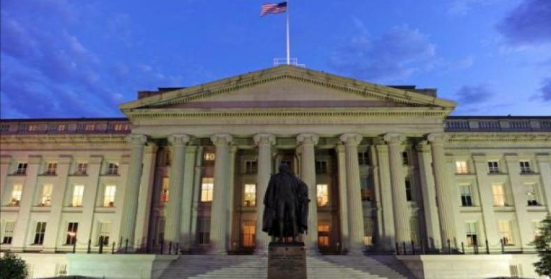 Departamento del Tesoro de EE.UU. Foto: Archivo