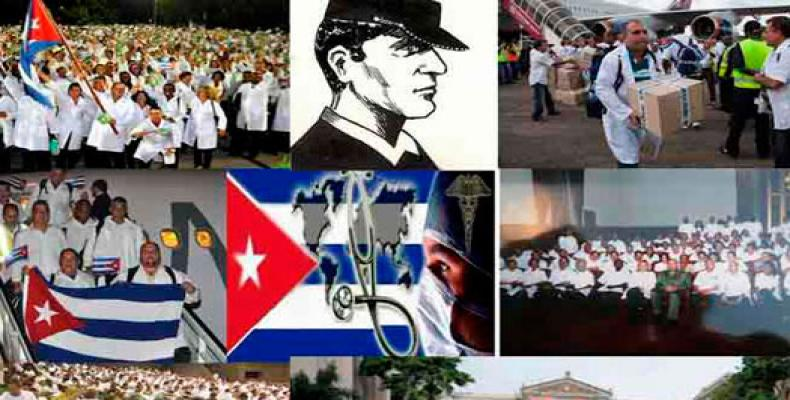 Created in 2005 by Fidel Castro as an emergency team to support New Orleans after Hurricane Katrina, 18 Henry Reeve brigades have severed in 22 countries.