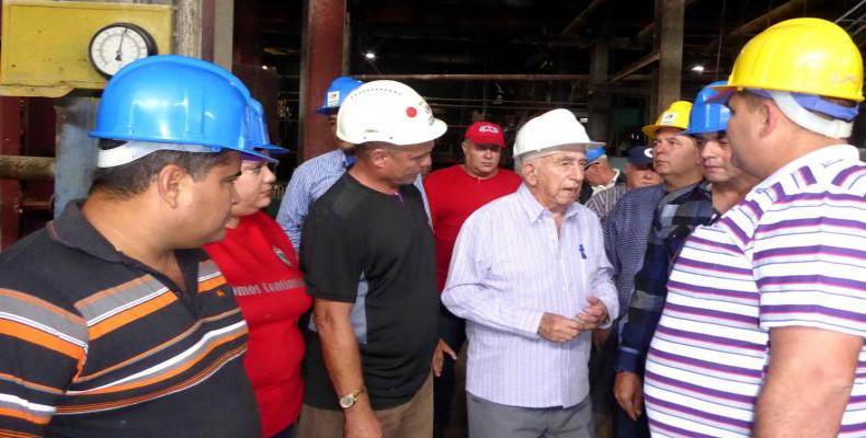 Segundo Secretario del Comité Central del Partido Comunista de Cuba, José Ramón Machado VenturaFoto: Radio Reloj.