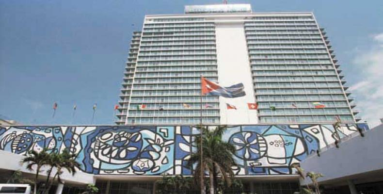 Hotel Habana Libre. Foto: Archivo