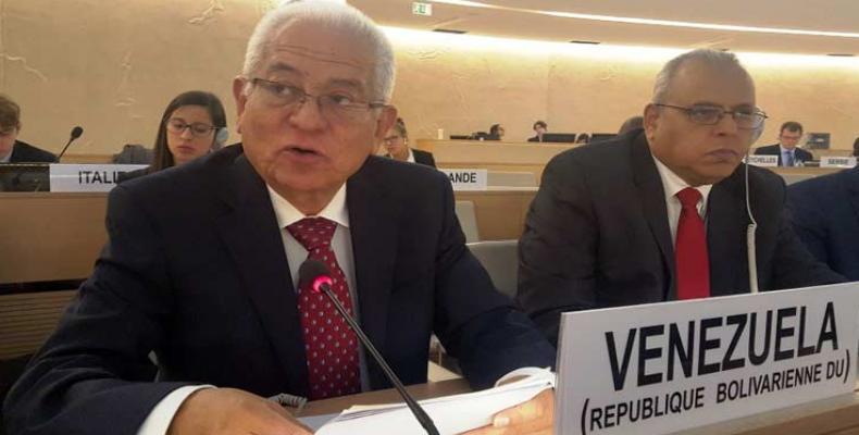 Jorge Valero, Venezuela's permanent ambassador to the UN.  Photo: File