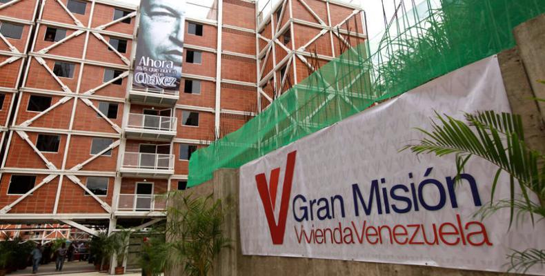 Lucrar con el derecho de los venezolanos a una vivienda digna es el objetivo de la derecha. (Foto: agenciacn.com)