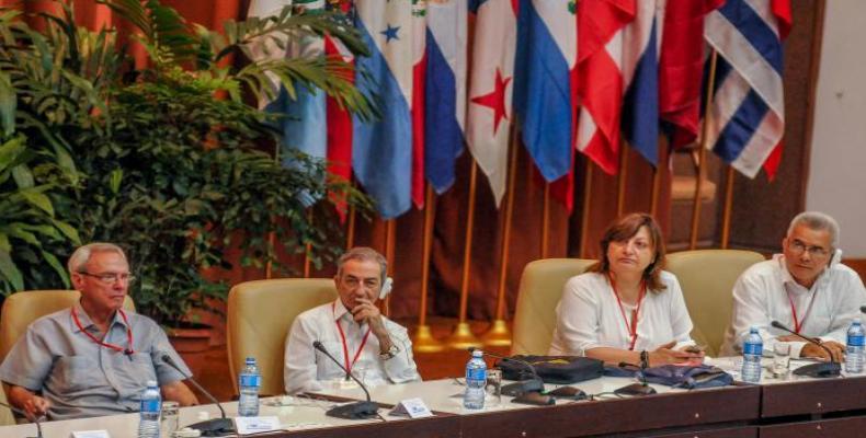 Foro de Sao Paulo en La Habana (Foto José Manuel Correa de www.granma.cu)