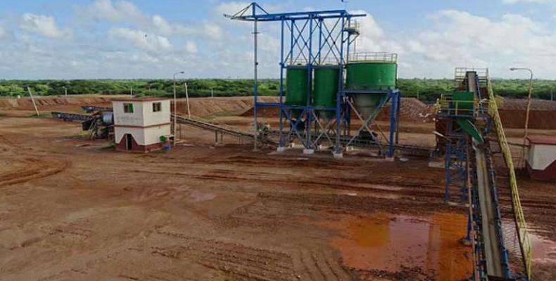 Institución Geominera Camagüey tiene amplias perspectivas de explotación de minerales metálicos ricos en plata y oro.Foto:PL.