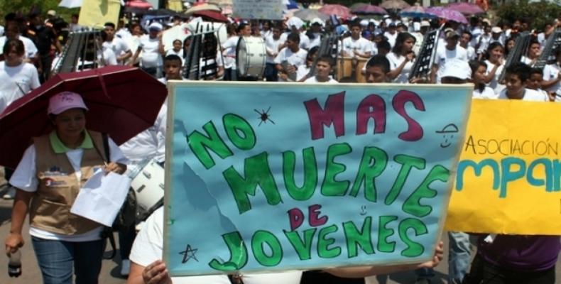 Organizaciones de derechos humanos en Honduras denunciaron que en los últimos meses murieron de forma violenta al menos una decena de estudiantes