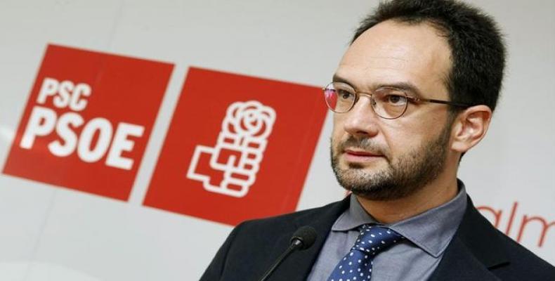 Portavoz del PSOE en el Congreso Antonio Hernando. (Foto/República. com)