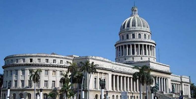 Le capitole, siège de l'Assemblée Nationale de Cuba