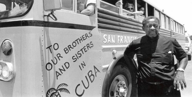 The late Reverend Lucius Walker, founder of Pastors for Peace and first organizer of the Friendshipment Caravans to Cuba