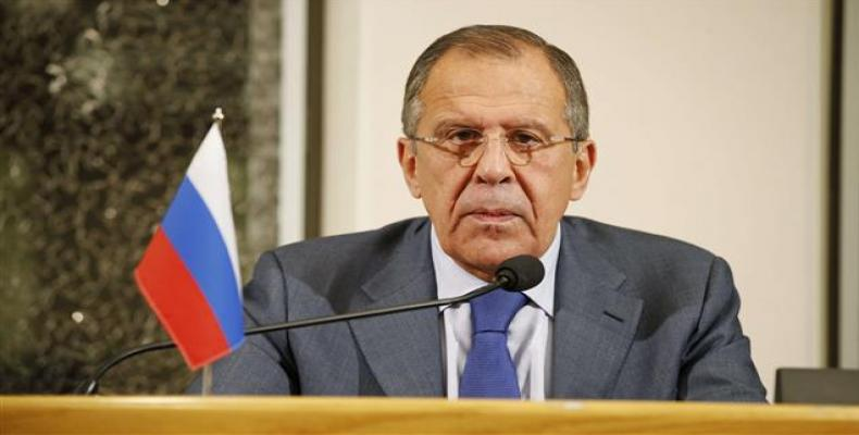 Russian foreign affairs minister Serguéi Lavrov.  File photo