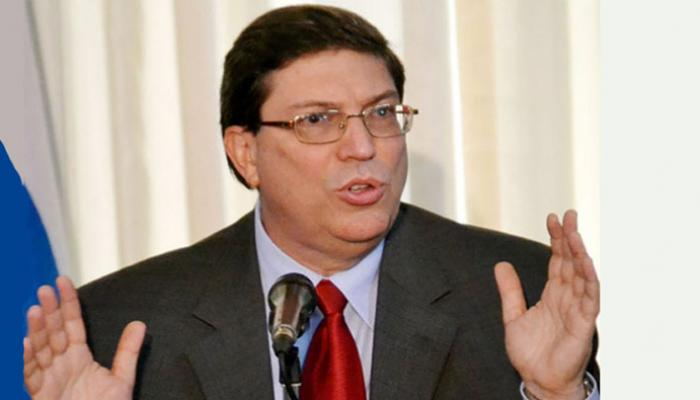 Cuban Foreign Minister Bruno Rodríguez. File Photo