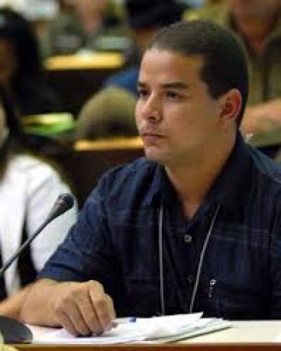 President of the Cuba-Venezuela parliamentary friendship group, Yoerky Sanchez.