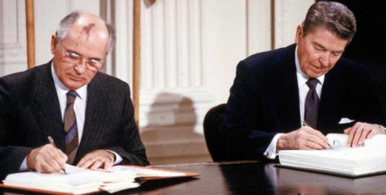 La Russie et les Etats-Unis avaient signé le traité FNI au temps de la guerre froide.