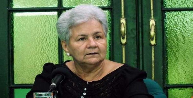 Gladys Bejerano. Foto: Archivo