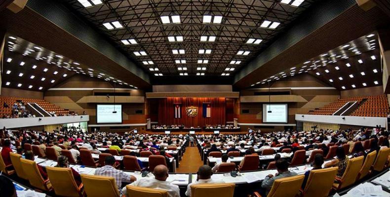 La parlamento sesias en Havano