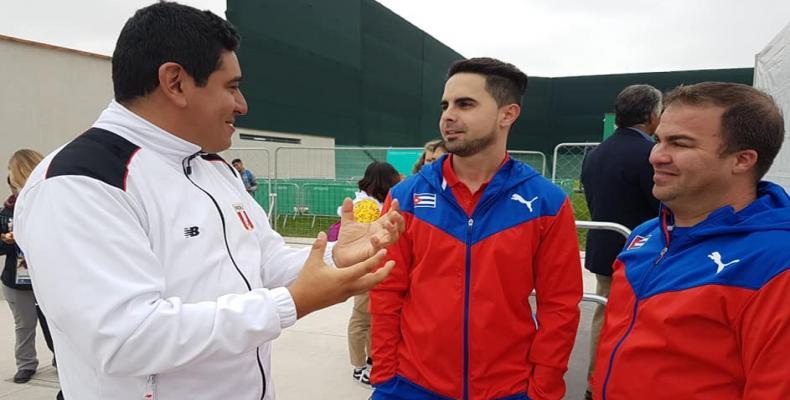 Kubaj sportistoj en Lima 2019