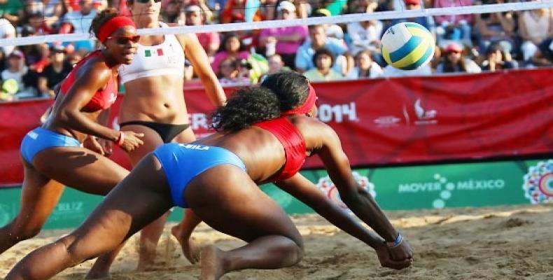 Cubanas en torneo de Varadero. Foto: Archivo