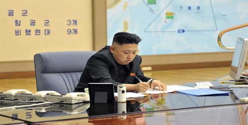 Llíder de la RPDC, Kim Jong-un.(Imagen:PL)