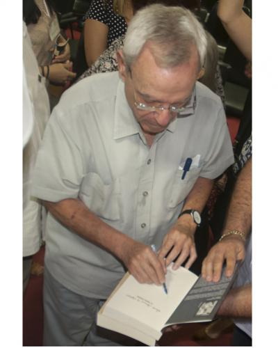 El historiador de La Habana Eusebio Leal presenta nueva edición del diario del Padre de la Patria. Foto/PL.