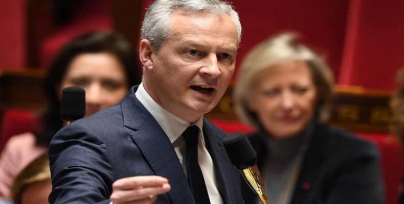 Bruno Le Maire, ministro francés de Economía