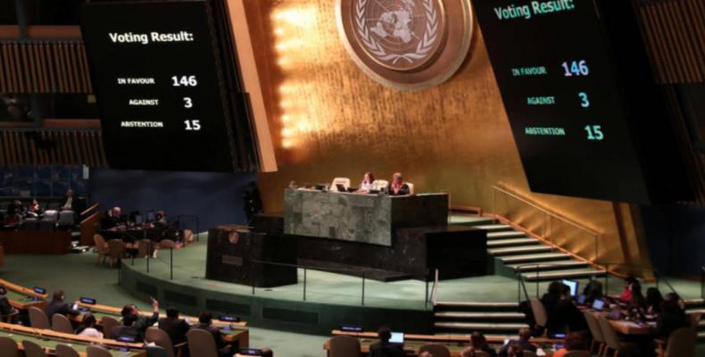 UN gives Palestine more powers.  Photo: AP