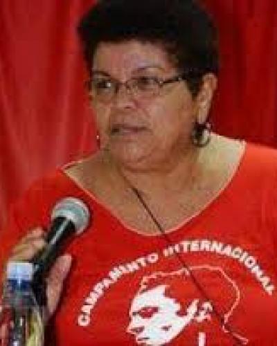 Milagros Rivera, directora delegación brigada puertorriqueña de solidaridad con Cuba, Juan Rius Rivera./ foto de archivo