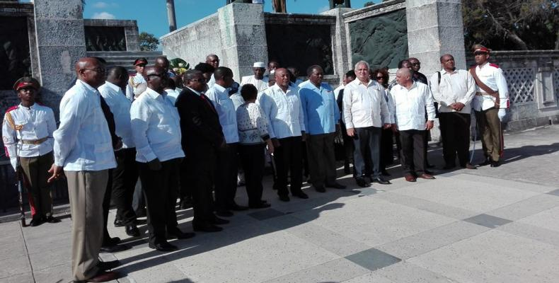 Vice president of Namibia in Cuba for anniversary of Cassinga Massacre