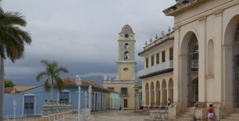 Trinidad, en el centro-sur de Cuba, fue declarada por la UNESCO Patrimonio de la Humanidad, en 1988. Foto: Archivo