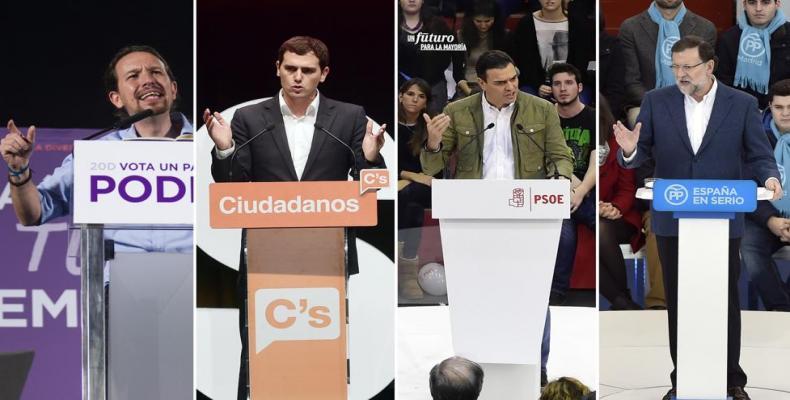 imagen de los partidos españoles