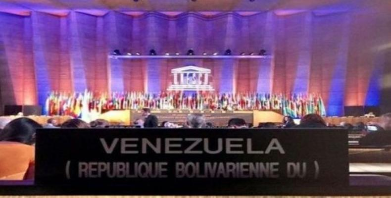 Venezuelan ambassador denounces illegal blockade imposed by the U.S. (Photo: VTV)