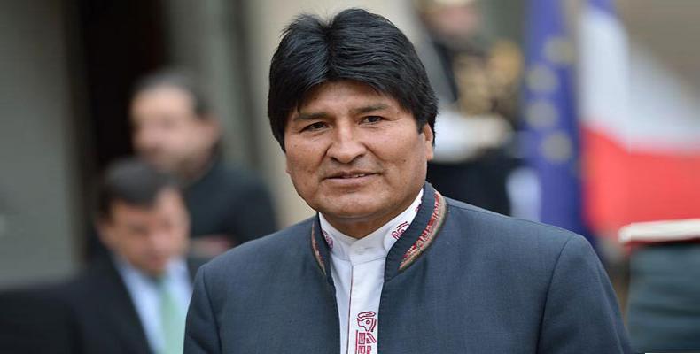 Evo Morales se convirtió en el primer Presidente indígena de Bolivia y América Latina. Foto: Archivo