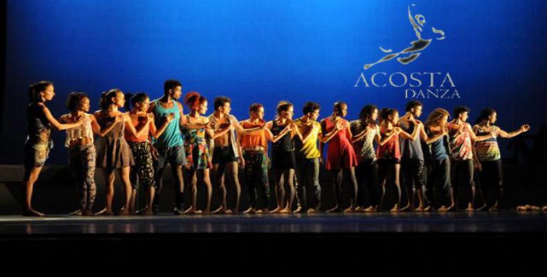 La Compañía Acosta Danza realizará gira por Chile.Foto:Archivo.