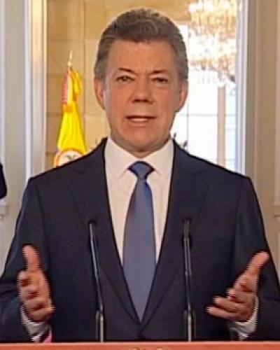 Juan Manuel Santos, Presidente de Colombia (File Photo)