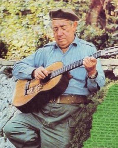 Carlos Puebla,  'El cantor de la Revolución'. Foto tomada de Internet