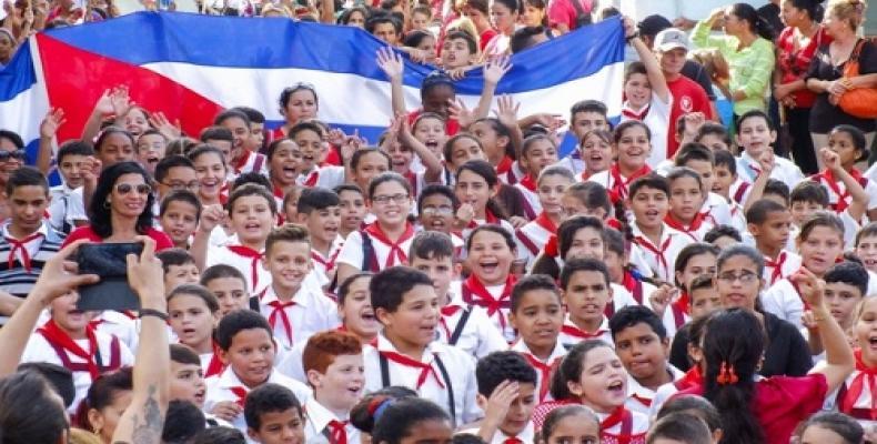 Minister of Education,  Ena Elsa Velázquez. PL Photo