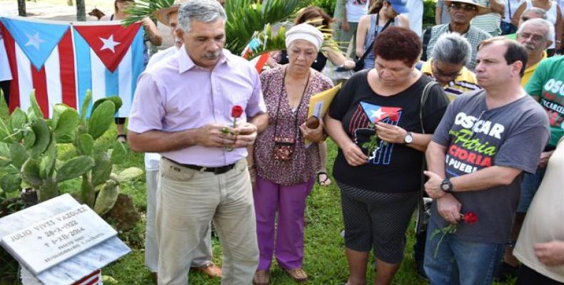 Con un homenaje al líder estudiantil cubano Julio Antonio Mella y al independentista boricua Julio Vives, iniciaron las actividades de la XXVI Brigada puertorri