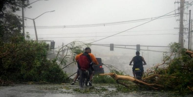 Hurricane Maria's death toll in Puerto Rico much higher than official report.  Photo: AP