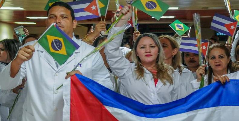 Nearly 6,000 Cuban doctors have returned home from Brazil