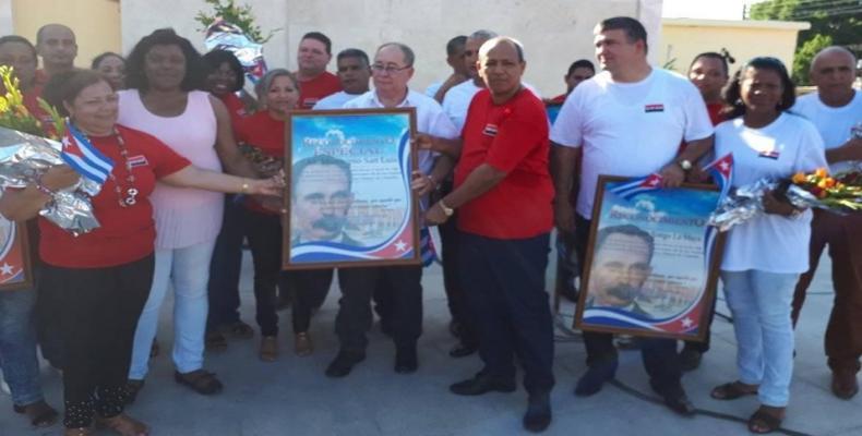 En el municipio santiaguero de San Luis se celebró el acto provincial por el aniversario 66 de la gesta del Moncada Fotos:Francisco Sánchez Fujishiro.