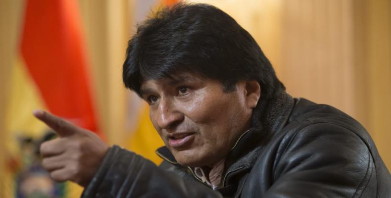 O presidente da Bolívia, Evo Morales, condenou a ingerência do Grupo de Lima nos assuntos internos da Venezuela.
