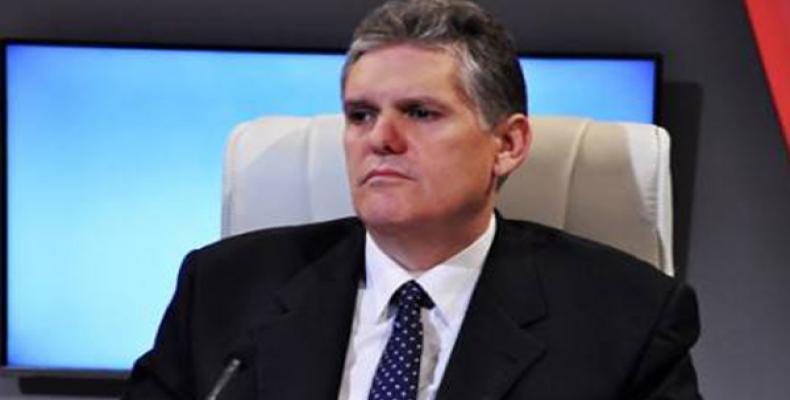 Alejandro Gil, ministro cubano de Economía y Planificación