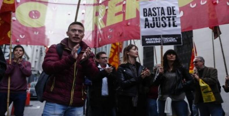 Manifestacioj kontrau la politiko de la monda fonduso internacia